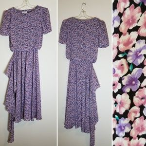 Vintage Dress JODY California Floral Dress